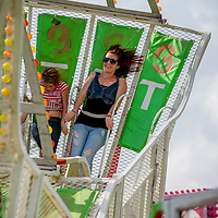 Visitors enjoy the opening day of the San Bernardino County Fair in Victorville, Saturday, May 24, 2014.  (Eric Reed/For The Sun)