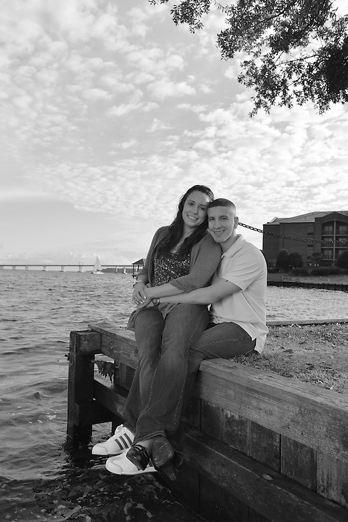 Kevin and Colleen Engagement | New Bern Photographers