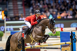 Schwizer Pius, SUI, Cas<br /> Jumping International de Bordeaux 2020<br /> © Hippo Foto - Dirk Caremans<br />  08/02/2020