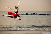 Dance As Art Photography Project- Coney Island Brooklyn, New York with dancer, Aly McKenzie