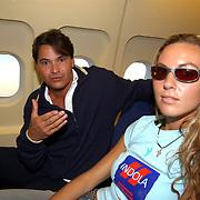 Miss Nederland 2003 reis Turkije, Miss Utrecht, Margriet de Vos + Andre Chevalier