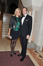 NADJA SWAROVSKI and RUPERT ADAMS at the Women for Women International UK Gala held at the Guildhall, City of London on 3rd May 2012.