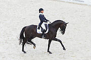 Minna Telde - Santana<br /> Alltech FEI World Equestrian Games™ 2014 - Normandy, France.<br /> © DigiShots