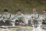[Mandatory Credit Peter Spurrier/ Intersport Images] Varsity, Boat race. Rowing Course: River Thames, Championship course, Putney to Mortlake 4.25 Miles