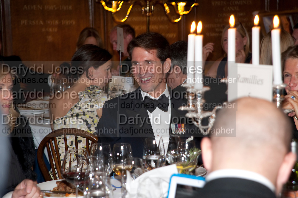 PRINCE PAVLOS OF GREECE, Charity Dinner in aid of Caring for Courage The Royal Scots Dragoon Guards Afganistan Welfare Appeal. In the presence of the Duke of Kent. The Royal Hospital, Chaelsea. London. 20 October 2011. <br /> <br />  , -DO NOT ARCHIVE-© Copyright Photograph by Dafydd Jones. 248 Clapham Rd. London SW9 0PZ. Tel 0207 820 0771. www.dafjones.com.