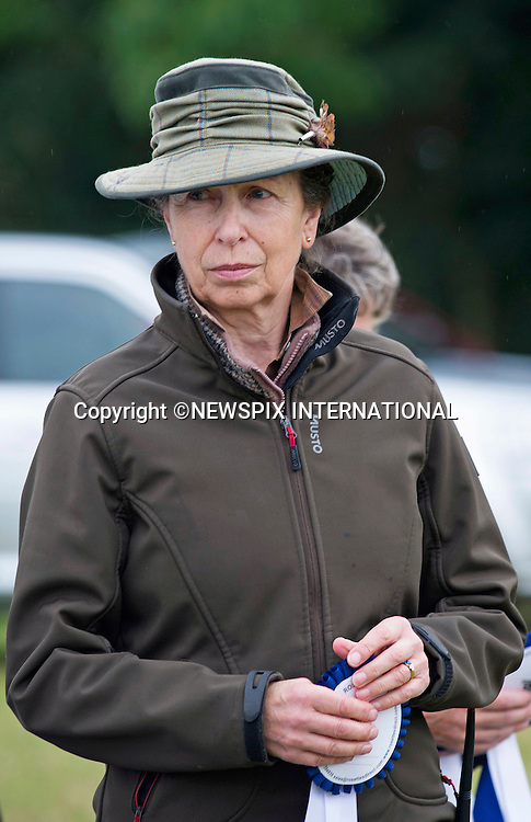 Minchinhampton, UK: PRINCESS ANNE<br /> at the Gatcombe Horse Trials held on her estate_20/09/2014<br /> Mandatory Photo Credit: &copy;Dias/NEWSPIX INTERNATIONAL<br /> <br /> **ALL FEES PAYABLE TO: &quot;NEWSPIX INTERNATIONAL&quot;**<br /> <br /> PHOTO CREDIT MANDATORY!!: NEWSPIX INTERNATIONAL(Failure to credit will incur a surcharge of 100% of reproduction fees)<br /> <br /> IMMEDIATE CONFIRMATION OF USAGE REQUIRED:<br /> Newspix International, 31 Chinnery Hill, Bishop's Stortford, ENGLAND CM23 3PS<br /> Tel:+441279 324672  ; Fax: +441279656877<br /> Mobile:  0777568 1153<br /> e-mail: info@newspixinternational.co.uk