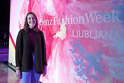 Elise Morton (The Calvert Journal) at Je Instagram novi kralj mode? as part of Mercedes-Benz Fashion Week Ljubljana 2017, on April 6, 2017 in Gospodarsko razstavisce, Ljubljana, Slovenia. Photo by Matic Klansek Velej/ Sportida