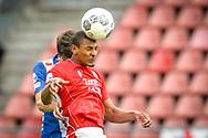 20-05-2017: Voetbal: FC Utrecht v SC Heerenveen: Utrecht<br /> <br /> (L-R) FC Utrecht speler Sebastien Haller tijdens het Eredivisie duel tussen FC Utrecht en Heerenveen op 20 mei 2017 in stadion Galgenwaard tijdens 1/2 finale play-offs <br /> <br /> 1/2 finale Play-offs, Eredivisie - Seizoen 2016 / 2017<br /> <br /> Foto: Gertjan Kooij
