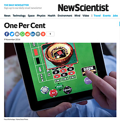 New Scientist; Online roulette