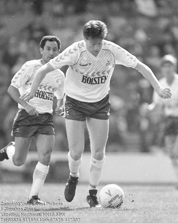 CHRIS WADDLE, TOTTENHAM HOTSPUR, SPURS 1987