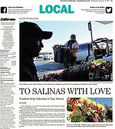 """USA """"Jay Dunn: Salinas Californian Features"""""""