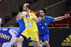 10.04.2016, Ergo Arena, Gdansk, POL, IHF Herren, Olympia Qualifikation, Chile vs Mazedonien, im Bild Vlatko Mitkov // Vlatko Mitkov // during the IHF men's Olympic Games handball qualifier between Chile and Macedonia at the Ergo Arena in Gdansk, Poland on 2016/04/10. EXPA Pictures © 2016, PhotoCredit: EXPA/ Newspix/ Piotr Matusewicz<br /> <br /> *****ATTENTION - for AUT, SLO, CRO, SRB, BIH, MAZ, TUR, SUI, SWE only*****