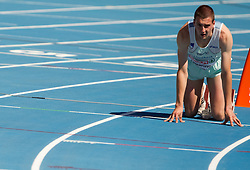 Sebastjan Jagarinec of Slovenia competes during the first round of the men's 400m at the 2010 European Athletics Championships at the Olympic Stadium in Barcelona on July 27, 2010.(Photo by Vid Ponikvar / Sportida)