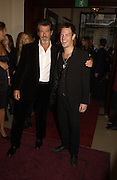 Sean and Pierce Brosnan. GQ Men Of The Year Awards at the Royal Opera House, London. September 6, 2005 in London, England, ONE TIME USE ONLY - DO NOT ARCHIVE  © Copyright Photograph by Dafydd Jones 66 Stockwell Park Rd. London SW9 0DA Tel 020 7733 0108 www.dafjones.com