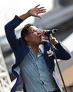 Deitrick Haddon performs at the African American Festival on Sunday, June 22, 2014 in Baltimore, MD.