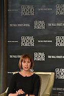 Darci Vetter, Ambassador and Chief Agricultural Negotiator, Office of the U.S. Trade Representative, at the The Wall Street Journal 2016 GLOBAL FOOD FORUM in New York City on October 6, 2016. (photo by Gabe Palacio)
