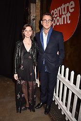 Francis Boulle and Katy Reece at the Centrepoint Ultimate Pub Quiz, Village Underground, 54 Holywell Lane<br /> London England. 7 February 2017.