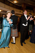 LADY DALMENY AND THE EARL OF YARBOROUGH, The Royal Caledonian Ball 2008. In aid of the Royal Caledonian Ball Trust. Grosvenor House. London. 2 May 2008.  *** Local Caption *** -DO NOT ARCHIVE-? Copyright Photograph by Dafydd Jones. 248 Clapham Rd. London SW9 0PZ. Tel 0207 820 0771. www.dafjones.com.