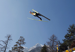 17.03.2012, Planica, Kranjska Gora, SLO, FIS Ski Sprung Weltcup, Team Skifliegen, im Bild Andreas Kofler (AUT),   during the FIS Skijumping Worldcup Flying Hill Team, at Planica, Kranjska Gora, Slovenia on 2012/03/17. EXPA © 2012, PhotoCredit: EXPA/ Oskar Hoeher.