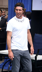 August 23, 2018 - New York City, New York, U.S. - Tennis player MISCHA ZVEREV attends the .2018 Lotte Palace Invitational Badminton Tournament held at the Lotte New York Palace. (Credit Image: © Nancy Kaszerman via ZUMA Wire)