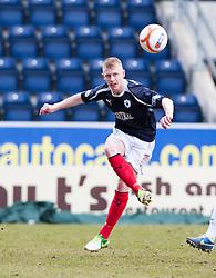 Falkirk's Liam Rowan..Falkirk 4 v 0 Cowdenbeath, 6/4/2013..©Michael Schofield..
