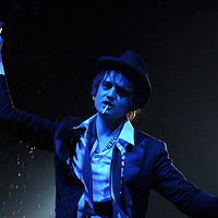 (C) INS News Agency Ltd... 22/08/2008<br />Scenes from the first day of Reading Festival 2008 (Friday). Pictured is Pete Doherty of Babyshambles during their set on the Radio 1 stage.