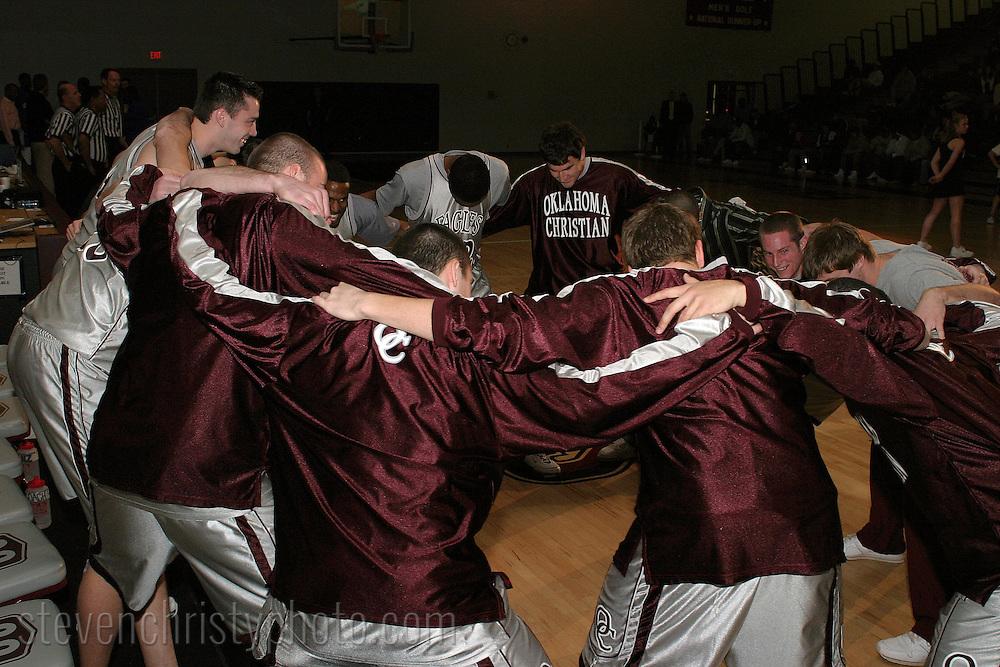 OC Men's Basketball vs Southeastern OK State.December 7, 2006.81-74 loss