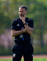 NANNING, CHINA - Wednesday, March 21, 2018: Wales' new manager Ryan Giggs during a training session at the Guangxi Sports Centre ahead of the opening 2018 Gree China Cup International Football Championship match against China. (Pic by David Rawcliffe/Propaganda)