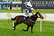 Red Alert ridden by Tom Marquand and trained by Tony Carroll in the Octagon Consultancy Handicap race.  - Ryan Hiscott/JMP - 24/05/2019 - PR - Bath Racecourse - Bath, England - Friday 24th May 2019 Race Meeting at Bath Racecourse