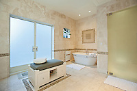 Master Bathroom at 247 Central Park West
