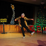 "Brenda Bufalino performs in the show ""Ring in the Rhythm! A Jazz & Tap Holiday"" at The Dance Hall in Kittery, ME"