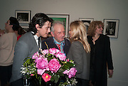 FENTON BAILEY; DAVID BAILEY; KATE MOSS, Opening of Bailey's Stardust - Exhibition - National Portrait Gallery London. 3 February 2014