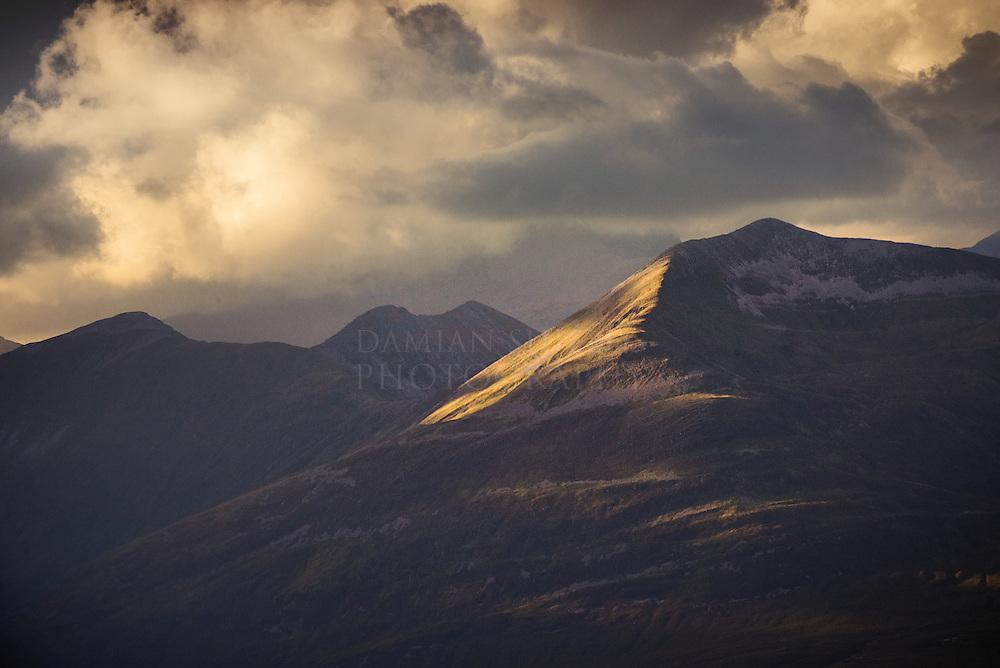 Na Gruagaichean (the Maidens), the Mamores, Highlands, Scotland