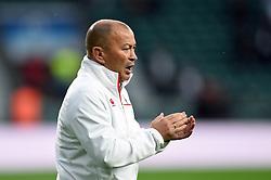 England Rugby Head Coach Eddie Jones - Mandatory byline: Patrick Khachfe/JMP - 07966 386802 - 18/11/2017 - RUGBY UNION - Twickenham Stadium - London, England - England v Australia - Old Mutual Wealth Series International