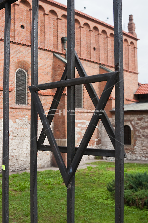 Old Synagogue in Kazimierz Krakow Poland. Oldest synagogue building still standing in Poland.