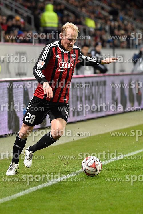 02.03.2015, Audi Sportpark, Ingolstadt, GER, 2. FBL, FC Ingolstadt 04 vs TSV 1860 M&uuml;nchen, 23. Runde, im Bild Tobias Levels (FC Ingolstadt), Einzelbild, Aktion // during the 2nd German Bundesliga 23rd round match between FC Ingolstadt 04 and TSV 1860 M&uuml;nchen at the Audi Sportpark in Ingolstadt, Germany on 2015/03/02. EXPA Pictures &copy; 2015, PhotoCredit: EXPA/ Eibner-Pressefoto/ Buthmann<br /> <br /> *****ATTENTION - OUT of GER*****