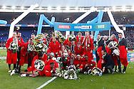 24-04-2016 VOETBAL: KNVB BEKERFINALE FEYENOORD-FC UTRECHT: ROTTERDAM <br /> <br /> Feyenoord wint de KNVB beker <br /> <br /> foto: Geert van Erven