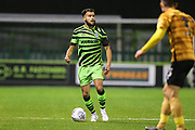 Forest Green Rovers Dominic Bernard(3) on the ball during the EFL Sky Bet League 2 match between Forest Green Rovers and Crewe Alexandra at the New Lawn, Forest Green, United Kingdom on 26 October 2019.