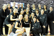 Silver Ferns winners of the New World International series, during New World Netball Series, New Zealand Silver Ferns v England at The ILT Velodrome, Invercargill, New Zealand. Thursday 6 October 2011 . Photo: Richard Hood photosport.co.nz