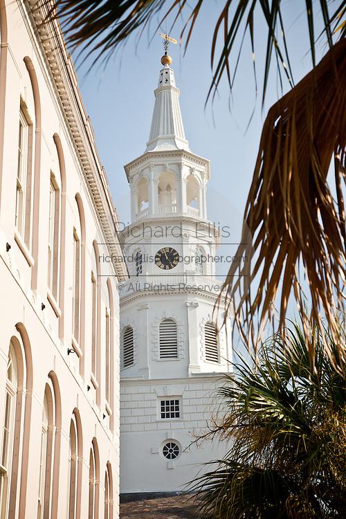 St Michael's Church in Charleston, SC.
