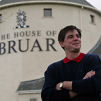 Patrick Birkbeck, Managing Director of The House of Bruar who have the exclusive licence to make golf clothing emboidered with the famous 'Claret Jug'<br />