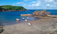 Hope Cove (Salcombe) seaside villagein South Huish in South Hams District, Devon, England