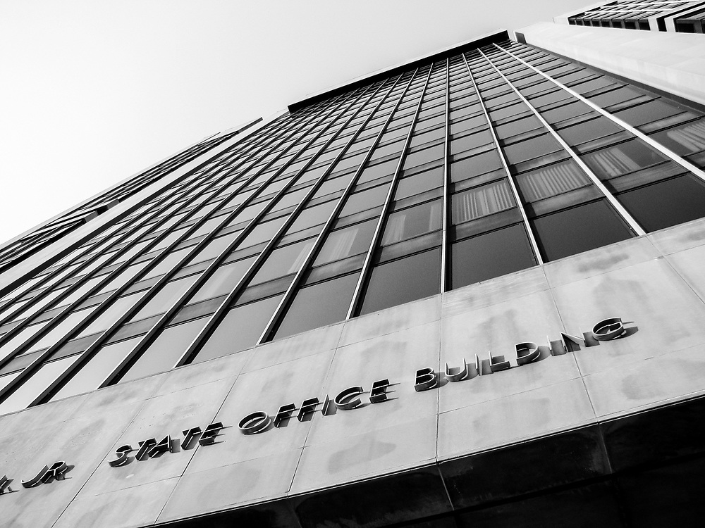 Adam Clayton Powell state office building 125th St Harlem NYC. 2007