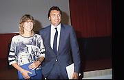 Scudetti 1987. Le premiazioni a Milano<br /> dino meneghin, caterina pollini