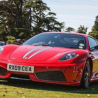 Ferrari F430 Scuderia (2009) at the Ferrari Club Annual Picnic at Wilton House on 23 August 2009