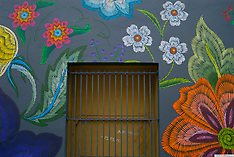 Flor de Miel Fotos presents 'Tenderloin Series - Mural Project,' photos by Catherine Herrera