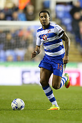 Liam Moore of Reading in action - Mandatory by-line: Jason Brown/JMP - 18/10/2016 - FOOTBALL - Madejski Stadium - Reading, England - Reading v Aston Villa - Sky Bet Championship