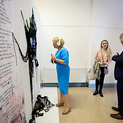 "03.06.2018.        <br /> An In-FLUX of visitors attended LSAD, Limerick School of Art and Design for one of Ireland's largest and most vibrant Graduate Shows.<br /> <br /> Pictured at the event was Chief Executive of the Design & Crafts Council of Ireland, Karen Hennessy who officially opened the Flux Exhibition.<br /> <br /> More than 200 Fine Art and Design students' work went on display from June 2 to June 10, 2018 at the LSAD Graduate Show - FLUX.<br /> LSAD has been central to Art, Craft and Design in the Limerick and Midwest region since 1852.<br />  <br /> The concept, branding and overall design of the 2018 LSAD Graduate Show - FLUX – is student led, and begins this Saturday June 2 and runs until June 10, 2018.<br />  <br /> FLUX encapsulates the movement and change from student to graduate. ""The ""X"" in ""FLUX"" represents the students and how they have made their mark in their time at college,"" explains designers Cathy Hogan and Will Harte as they outline the thinking behind the concept.<br />  <br /> FLUX describes the dynamic movement in the Limerick city region as it overcomes significant issues to become a fulcrum of rejuvenation, vibrant culture, strong industry growth and a centre of design.<br />  <br /> LSAD is also in a state of FLUX as it develops its enterprise potential and engagement with stakeholders across industry, public bodies, third level institutions and other partners overseeing a shift towards design, creativity and connectivity that goes far beyond the walls of its main campus on Clare Street. Picture: Alan Place"