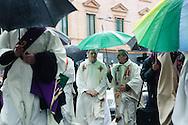 Ultimo saluto a don Andrea Gallo. Funerali. Genova, 25 maggio 2013. Don Luigi Ciotti.