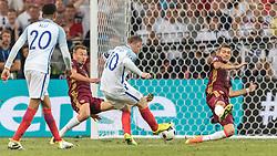 11-06-2016 FRA: UEFA EURO Engeland - Rusland, Marseille<br /> Engeland speelt gelijk tegen Rusland 1-1 / Wayne Rooney (ENG) <br /> <br /> ***NETHERLANDS ONLY***